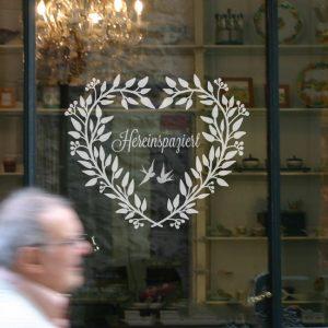 Fenstertattoo Türkranz von Lovala