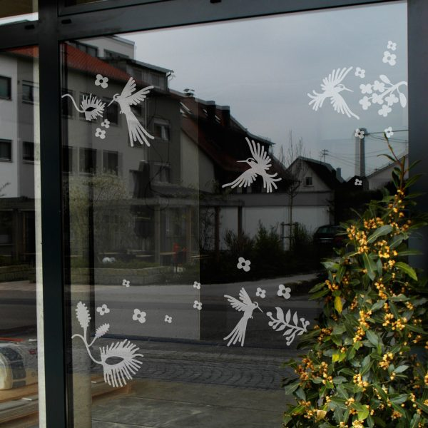 Fenstertattoo Kolibri von Lovala